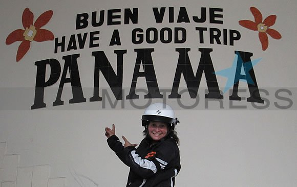 Miss Rider to Panama - Your Story on MOTORESS