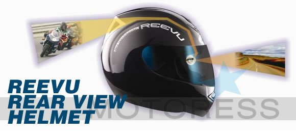 Reevu Rear View Helmet for Women Riders
