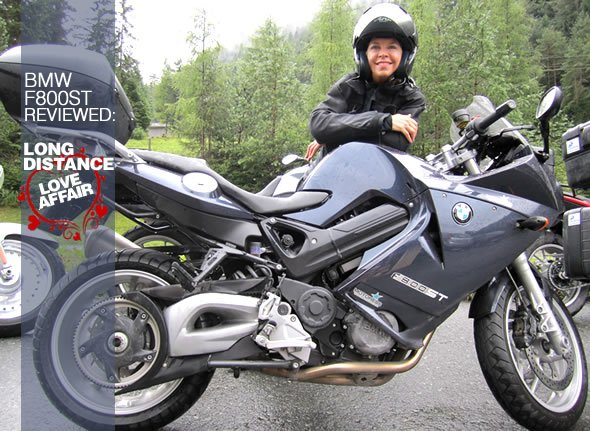 BMW F800ST Sport Touring Motorcycle – Long Distance Love ...
