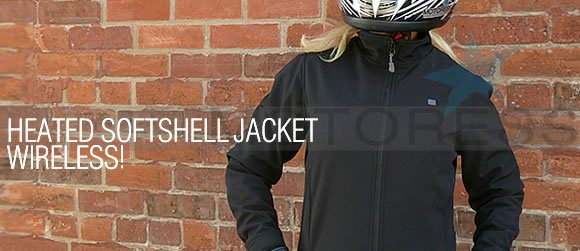 Heated Soft Shell Jacket Motoress