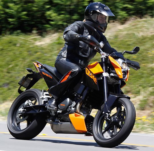 KTM 690 Duke Review – Making Do with One | Woman Motorcycle ...