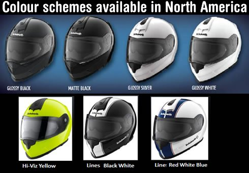 Schuberth S2 Colours on MOTORESS