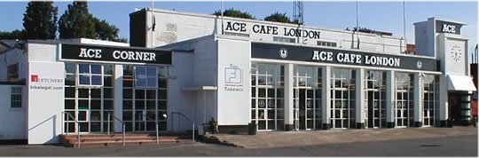Ace Cafe on Motoress