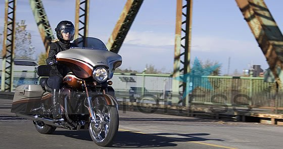 Harley-Davidson CVO Street Glide Ride Review | Woman Motorcycle