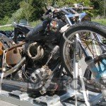 Tsunami Motorcycle Preserved by Harley-Davidson