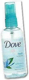 Dove's Go Fresh Body Mist