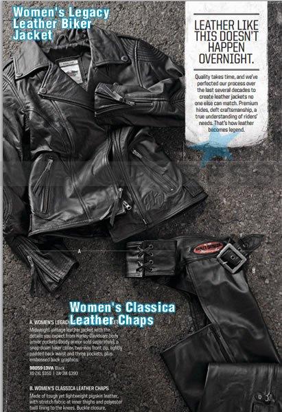 Harley-Davidson's 2013 Motorclothes Motoress