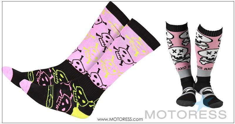 AXO MX Socks Skully on MOTORESS.COM