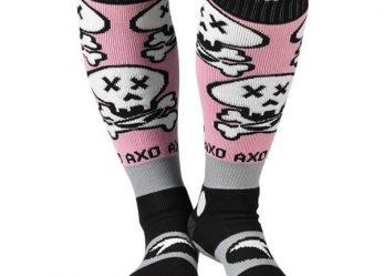 AXO MX Socks Skully Performance Attitude