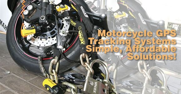 GPS Security Tracking for Motorcycle