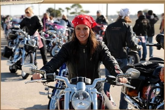 Harley Rides for International Female Ride Day