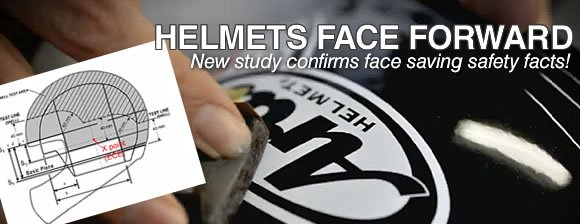 Helmet Study Proves Face Saving Facts - MOTORESS