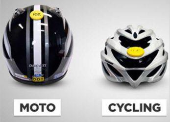 Crash Sensor Detects Helmet Impacts