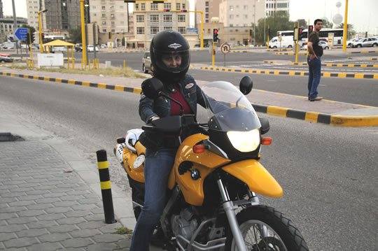 Kuwait joins International Female Ride Day