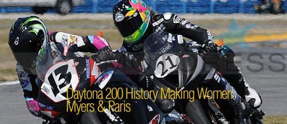 MOTORESS Daytona 200 History Making for Women