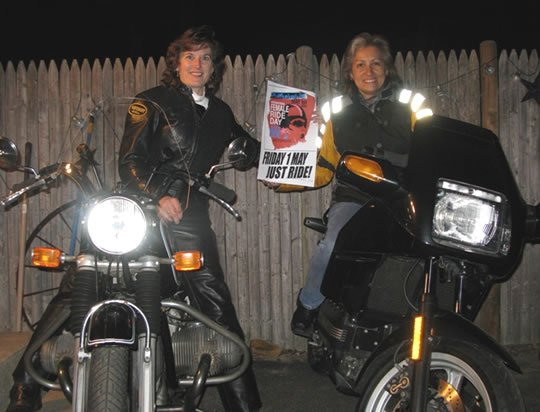 Midnight Motorcycle Run for Women Riders on IFRD