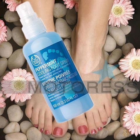 Peppermint foot Spray Motoress