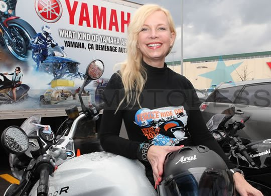 Vicki Gray Founder International Female Ride Day