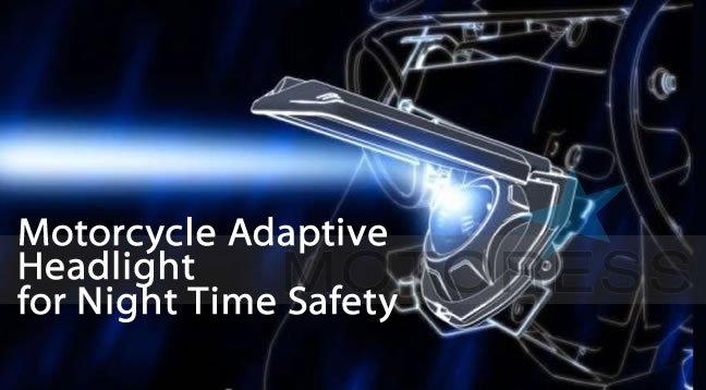 Adaptive Headlight on Motoress