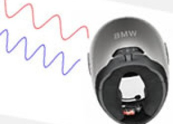 BMW Motorrad Sport Helmet with Integrated Bluetooth