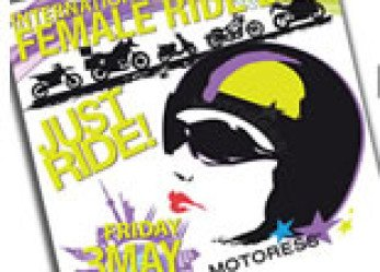 2013 International Female Ride Day Icon