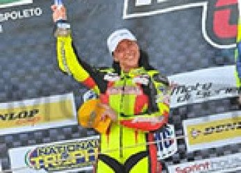 Motorcycle Racer Letizia Marchetti Finished With Glorious Third