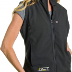 Heated Women's Vest for Chilly Motorcycle Rides