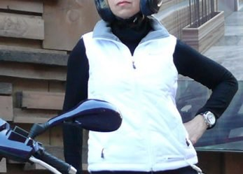 Heated Motorcycle Vest for Women Riders