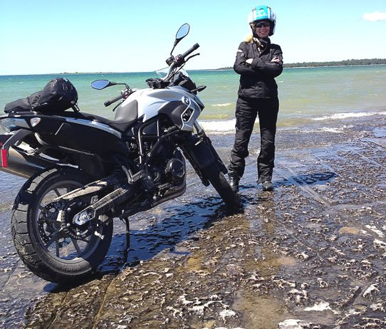 Ride Manitoulin Island - A Motorcyclist's Wonderland - Vicki Gray for MOTORESSING