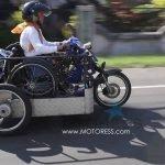 Jakarta to Bali on Modified Motorcycle Sri Lestari Defies Limits