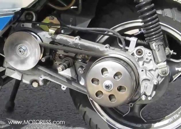 CVT Transmission on MOTORESS