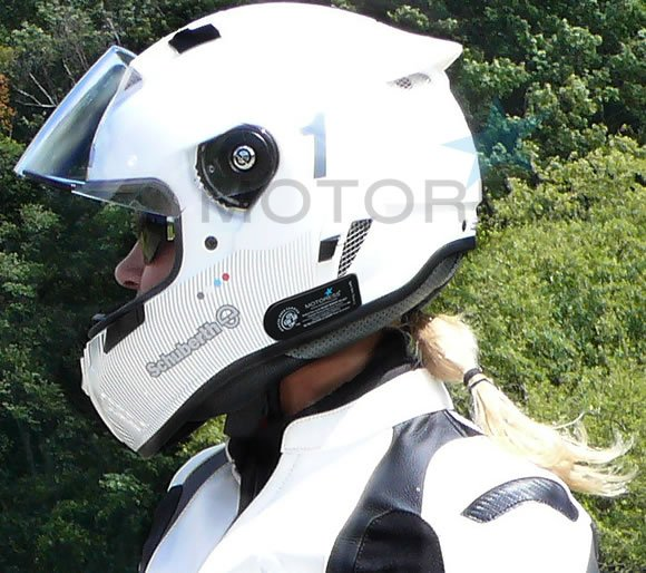Motorcycle Helmet Medical Data Carrier - MOTORESS