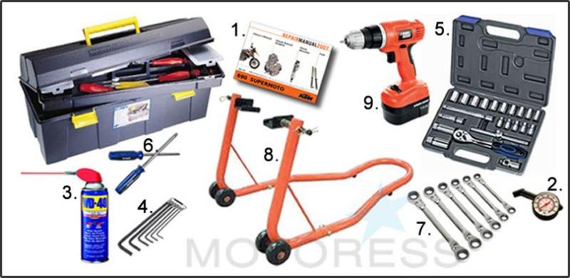 Motorcycle Tool Box Basics - MOTORESS