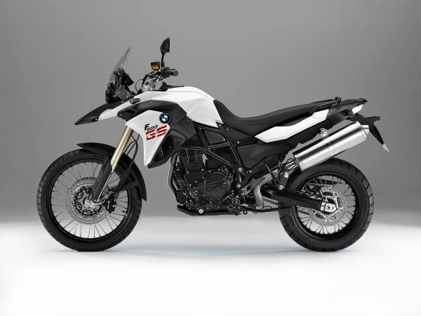 BMW F700GS on MOTORESS