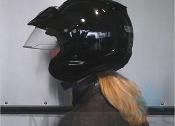 Arai CT-Z Helmet with Built In Sun Shield