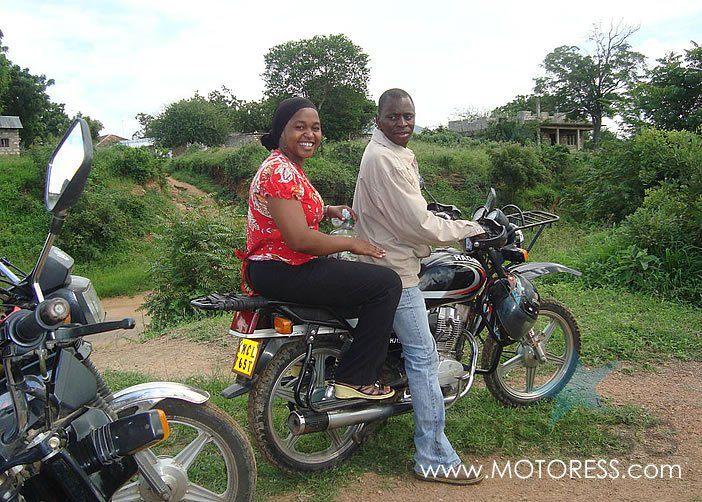 Health by Motorbike Helping Women and Girls - motoress