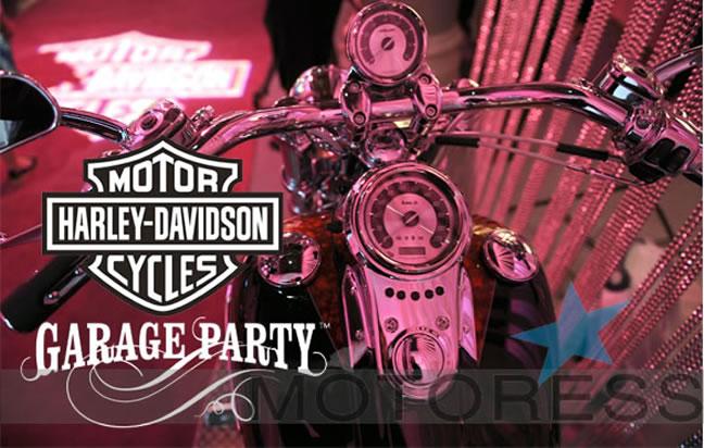 Harley-Davidson Women's Garage Party Events - MOTORESS