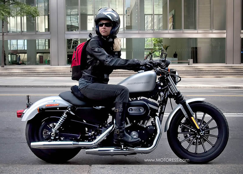 Harley-Davidson Iron 883 Sportster Great Cruiser Beginnings | Woman