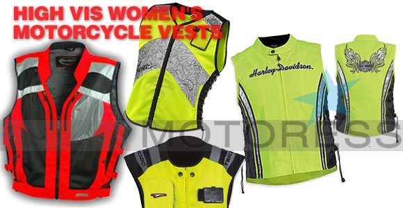 High Visibility Motorcycle Vests on MOTORESS
