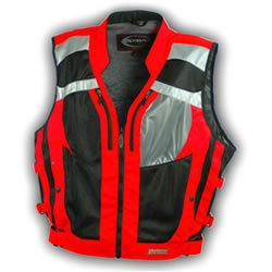 High Visibility Motorcycle Vests for Women