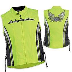 Harley-Davidson Women's High Visibility Motorcycle Vests