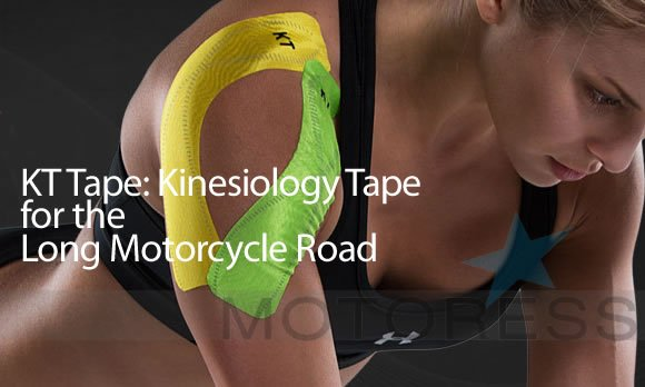 KT Tape for the Long Ride MOTORESS