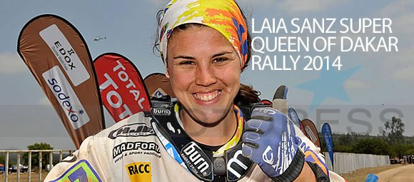 Laia Sanz Queen of Dakar