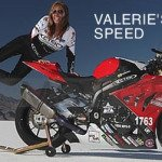 Valerie Thompson Five Time Land Speed Holder Joins BUB Speed Trials