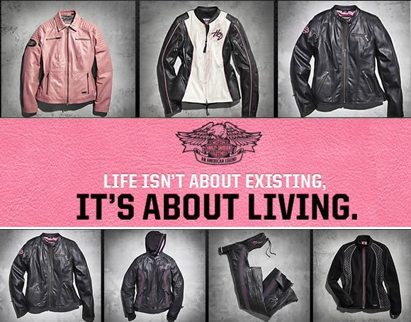 Harley Davidson Pink Label