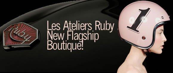 Motoress finds Ruby Helmets