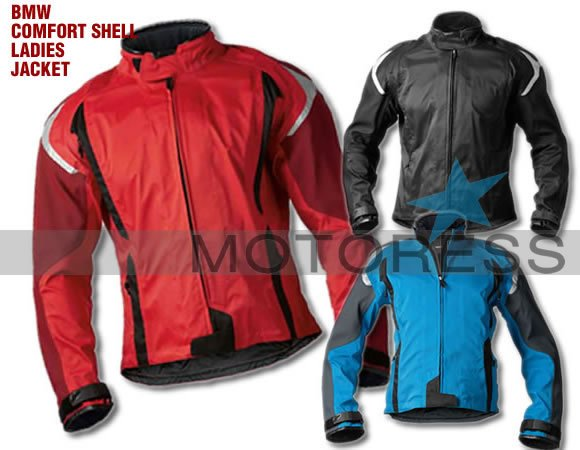 BMW Motorrad Comfort Shell Jacket for Women - MOTORESS