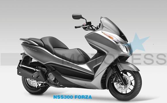 Honda Fonza Maxi Scooter-2013 Honda Motorcycle
