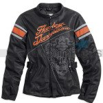 Harley-Davidson Women's Motorcycle Jacket MotoCruise with Mesh