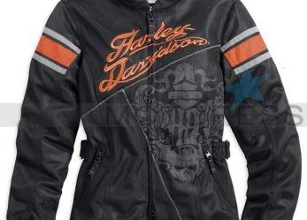 Harley-Davidson Women's Motorcycle Jacket MotoCruise with Mesh